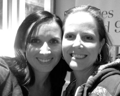 Me with Angie Hulsman